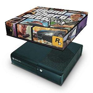 Xbox 360 Super Slim Capa Anti Poeira - Gta V