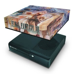 Xbox 360 Super Slim Capa Anti Poeira - Final Fantasy Xiii #b