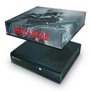 Xbox 360 Super Slim Capa Anti Poeira - Metal Gear Solid Rising