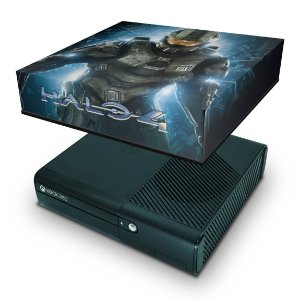 Xbox 360 Super Slim Capa Anti Poeira - Halo 4