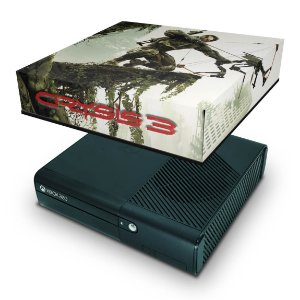 Xbox 360 Super Slim Capa Anti Poeira - Crysis 3