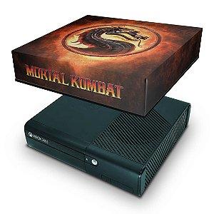 Xbox 360 Super Slim Capa Anti Poeira - Mortal Kombat