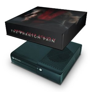 Xbox 360 Super Slim Capa Anti Poeira - Metal Gear Solid V