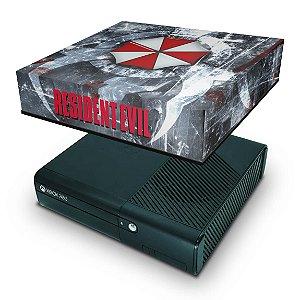 Xbox 360 Super Slim Capa Anti Poeira - Resident Evil Umbrella
