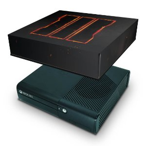 Xbox 360 Super Slim Capa Anti Poeira - Call Of Duty Black Ops 3