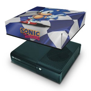 Xbox 360 Super Slim Capa Anti Poeira - Sonic The Hedgehog
