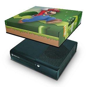 Xbox 360 Super Slim Capa Anti Poeira - Mario & Luigi