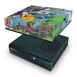 Xbox 360 Super Slim Capa Anti Poeira - Hora De Aventura