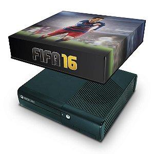Xbox 360 Super Slim Capa Anti Poeira - Fifa 16