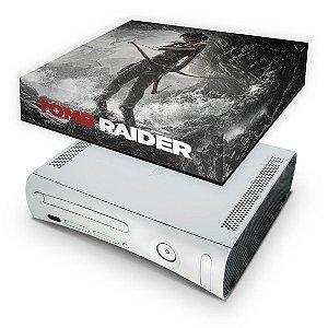 Xbox 360 Fat Capa Anti Poeira - Tomb Raider