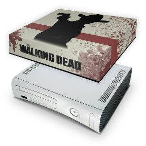Xbox 360 Fat Capa Anti Poeira - The Walking Dead #a