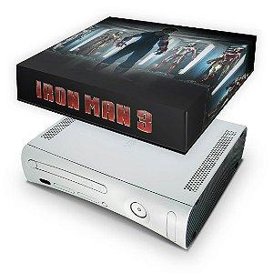 Xbox 360 Fat Capa Anti Poeira - Homem De Ferro #a