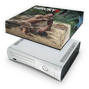 Xbox 360 Fat Capa Anti Poeira - Far Cry 3