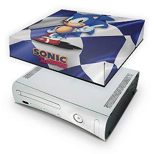 Xbox 360 Fat Capa Anti Poeira - Sonic The Hedgehog