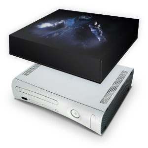 Xbox 360 Fat Capa Anti Poeira - Mortal Kombat X Subzero