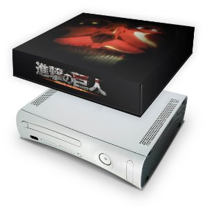 Xbox 360 Fat Capa Anti Poeira - Attack On Titan #b