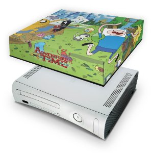 Xbox 360 Fat Capa Anti Poeira - Hora De Aventura