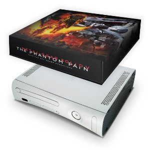 Xbox 360 Fat Capa Anti Poeira - Metal Gear Solid 5