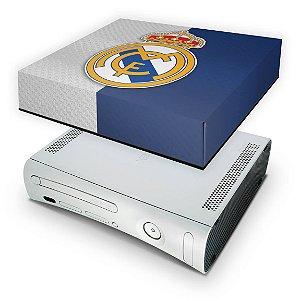 Xbox 360 Fat Capa Anti Poeira - Real Madrid Fc