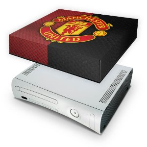 Xbox 360 Fat Capa Anti Poeira - Manchester United