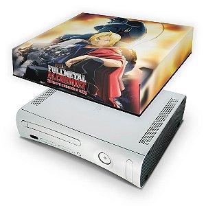 Xbox 360 Fat Capa Anti Poeira - Fullmetal Alchemist