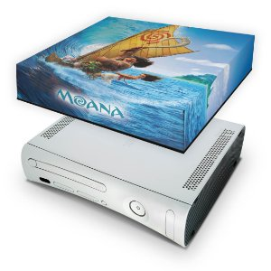 Xbox 360 Fat Capa Anti Poeira - Moana