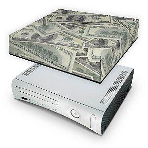 Xbox 360 Fat Capa Anti Poeira - Dollar Money Dinheiro