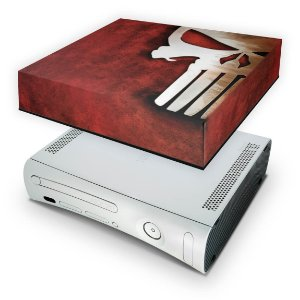 Xbox 360 Fat Capa Anti Poeira - The Punisher Justiceiro