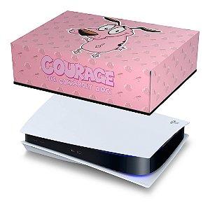 PS5 Capa Anti Poeira - Coragem: O Cão Covarde