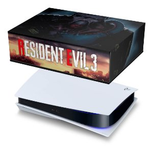 PS5 Capa Anti Poeira - Resident Evil 3 Remake