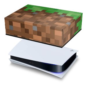 PS5 Capa Anti Poeira - Minecraft