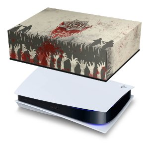 PS5 Capa Anti Poeira - The Walking Dead