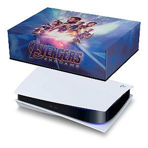 PS5 Capa Anti Poeira - Vingadores Ultimato Endgame