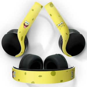 PS5 Skin Headset Pulse 3D - Bob Esponja