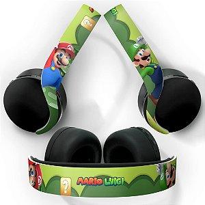 PS5 Skin Headset Pulse 3D - Super Mario