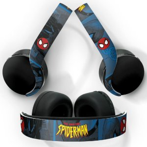 PS5 Skin Headset Pulse 3D - Homem-Aranha Spider-Man Comics