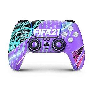 Skin PS5 Controle - FIFA 21
