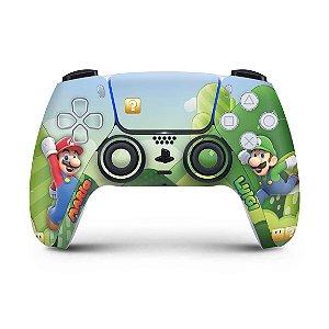 Skin PS5 Controle - Super Mario