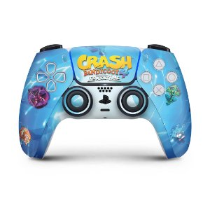 Skin PS5 Controle - Crash Bandicoot 4
