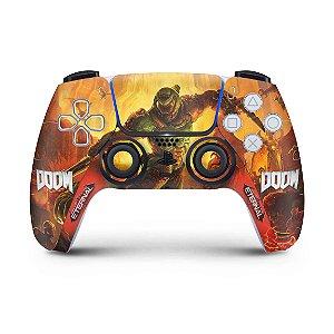 Skin PS5 Controle - Doom Eternal