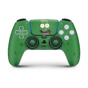 Skin PS5 Controle - Pickle Rick And Morty