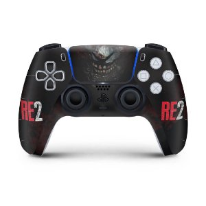 Skin PS5 Controle - Resident Evil 2 Remake