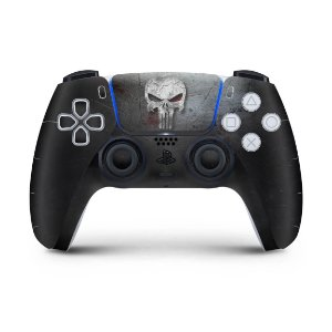 Skin PS5 Controle - The Punisher Justiceiro