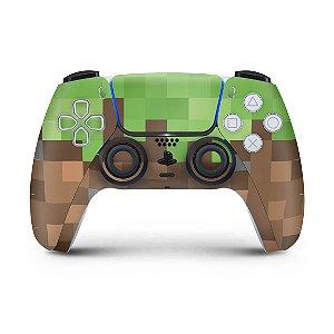 Skin PS5 Controle - Minecraft