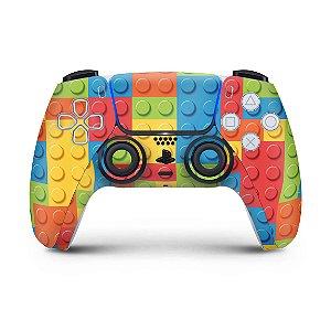 Skin PS5 Controle - Lego Peça