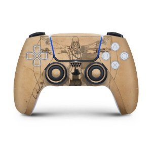 Skin PS5 Controle - Assassin'S Creed Vitruviano