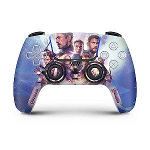 Skin PS5 Controle - Vingadores Ultimato Endgame