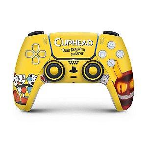 Skin PS5 Controle - Cuphead