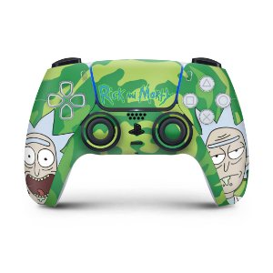 Skin PS5 Controle - Rick And Morty