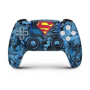 Skin PS5 Controle - Superman Comics